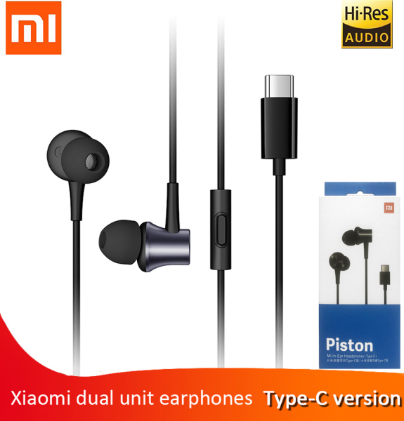 Xiaomi Mi Piston 3 Type C Earphone USB-C in Ear Earbuds for Mi 9 Pro 5G 8 SE Lite 6 6X A2 5 5S Plus 4S MIX 2s 3 MAX 2 3 Note 2 3 Singapore