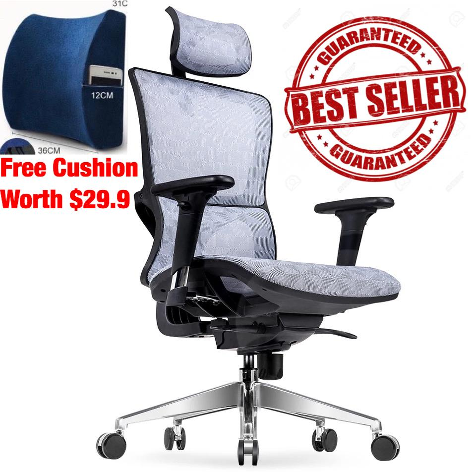 (3 Years Warranty/Free Installation) UMD High End Ergonomic Chair Full Mesh Chair Gaming Chair Computer Chair Designed with Full Ergonomic Features ( 3 Models to Choose From ) Singapore
