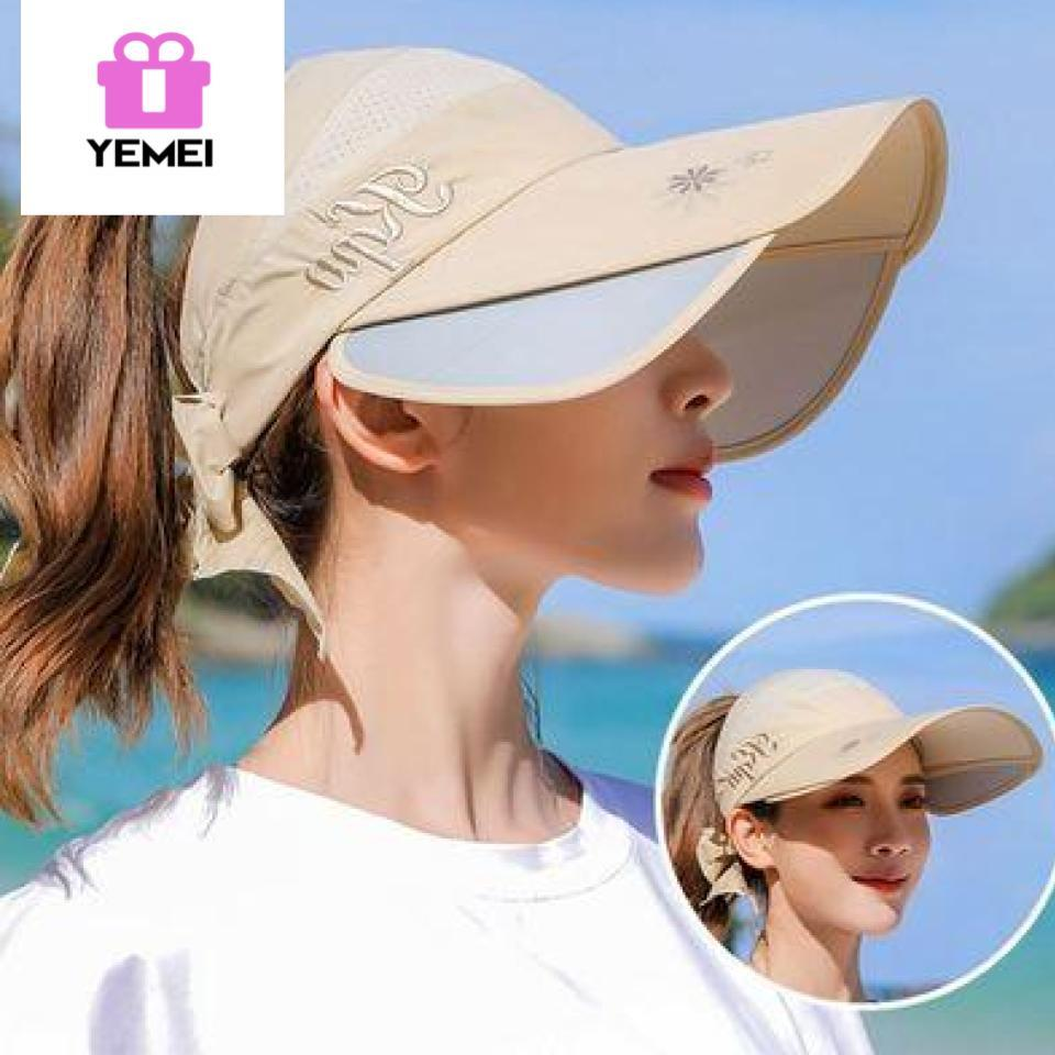 d9c6531af39fc2 Sun Hats Wide Brim Beach Fishing Hat Baseball Cap UPF 50+ Anti UV with  Retractable