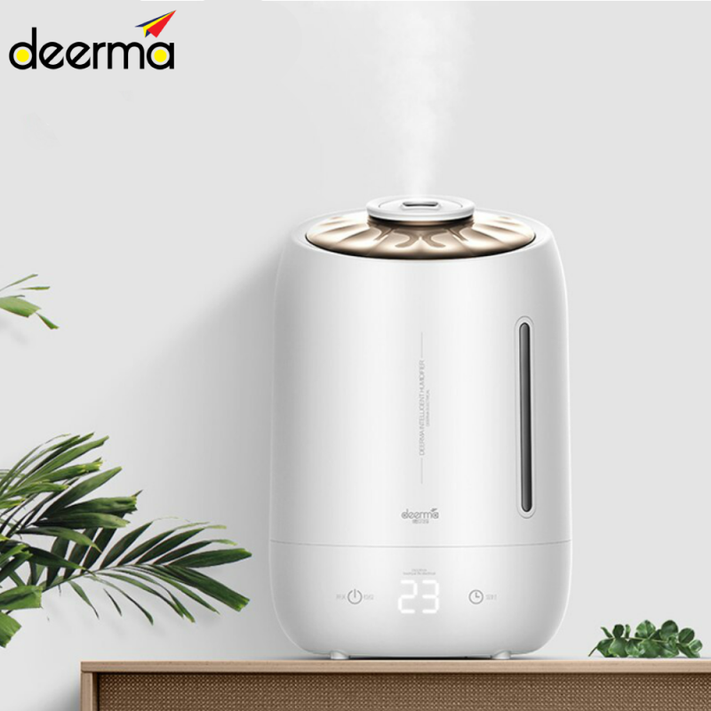 DEERMA F600/Household Humidifier Air Purifying Mist Maker/ULTRASONIC AIR HUMIDIFIER/5L LARGE CAPACITY/Touch Panel/AROMA DIFFUSER/ Singapore