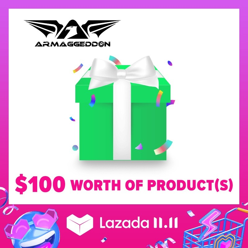 Lazada X Armaggeddon Accessories Surprise Box 1 [Armaggeddon 10th Anniversary Exclusive] Singapore