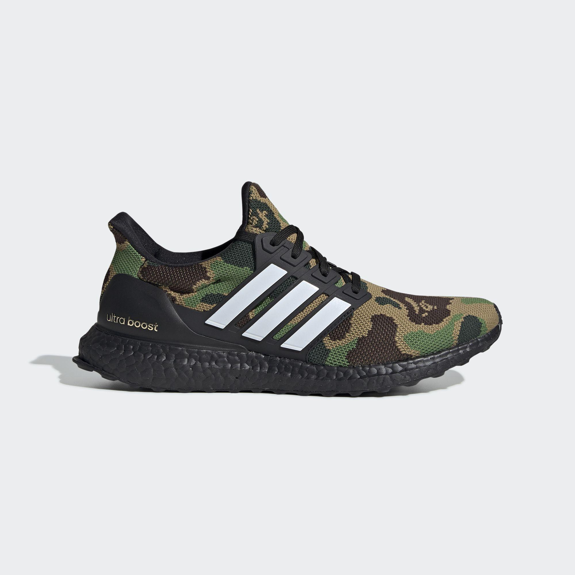 finest selection 1a0ee d40e4 Ultraboost Bape Green