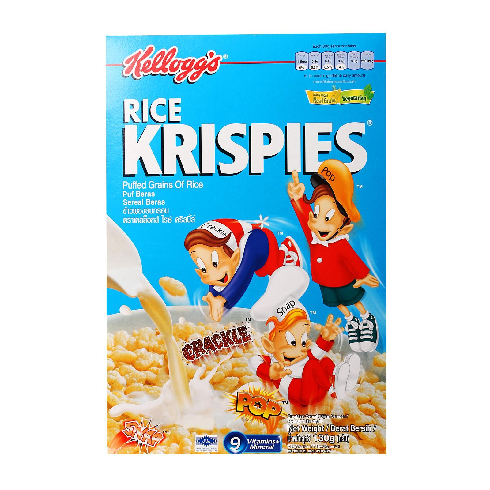 Kelloggs Rice Krispies Cereal By Redmart.