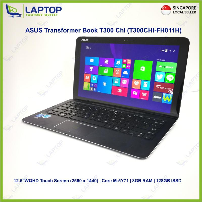 ASUS Transformer Book T300 Chi (T300CHI-FH011H) Touch Screen (5Y71/8GB/128GB) Premium Preowned [Refurbished]