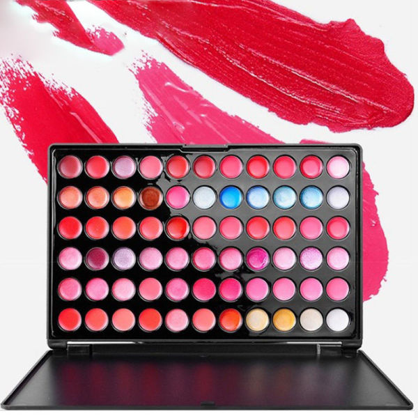 Buy Great promotion! ! !66 color lip gloss lasting moisturizing waterproof pearlescent matte makeup stage lipstick plate Singapore