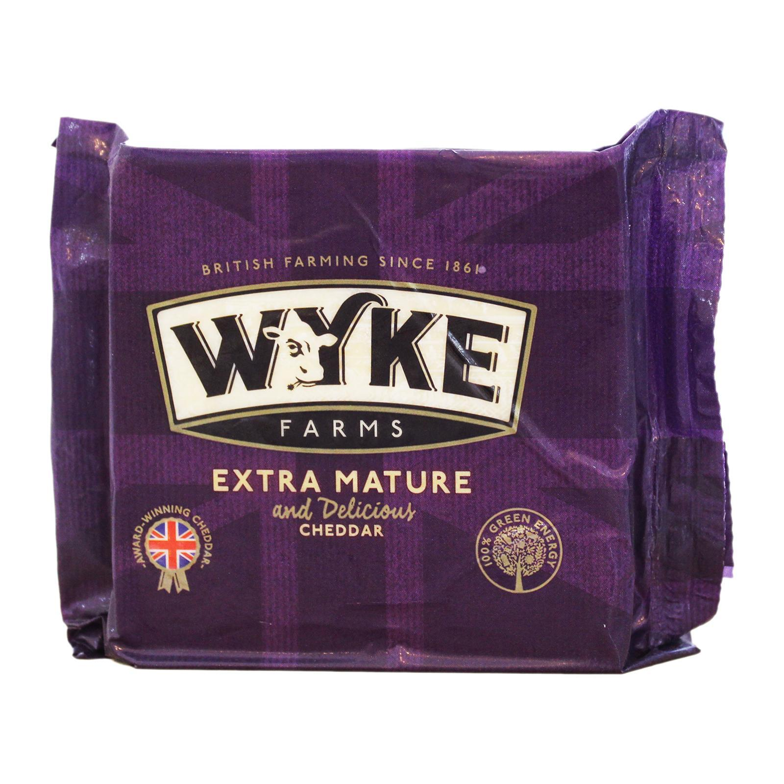 Wyke Farms Extra Mature Farmhouse Cheddar matured 12 months
