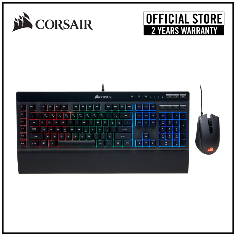 Corsair K55 RGB + HARPOON RGB Keyboard & Mouse COMBO Singapore