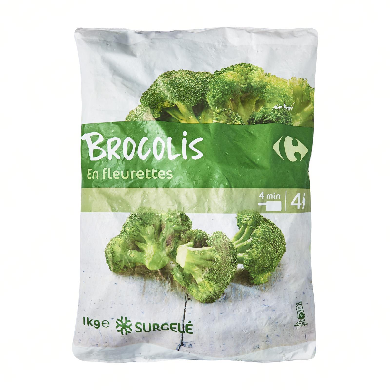 Carrefour Broccoli Florets - Frozen - By Le Petit Depot By Redmart.