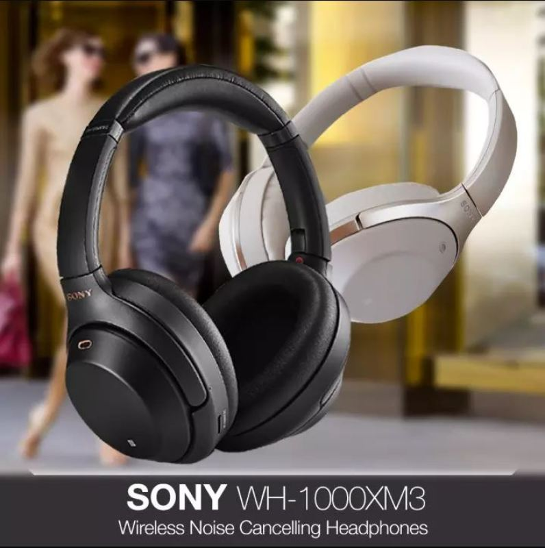 (Pre-Order release early June) Sony WH-1000XM3 Bluetooth Over-Ear Noise Cancelling Headphones With 1 Year Local Warranty WH1000XM3 Singapore