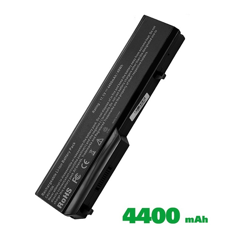 [SG Seller] Replacement Laptop Grade A Cells Battery Dell V1320 Compatible with V1320-8-3S2P, Dell Vostro 1310, 1320, 1510, 1520, 2510, K738H, 0K738H, 0N950C, G274C, K738H, N950C, N956C, N958C, T112C, T114C, U661H
