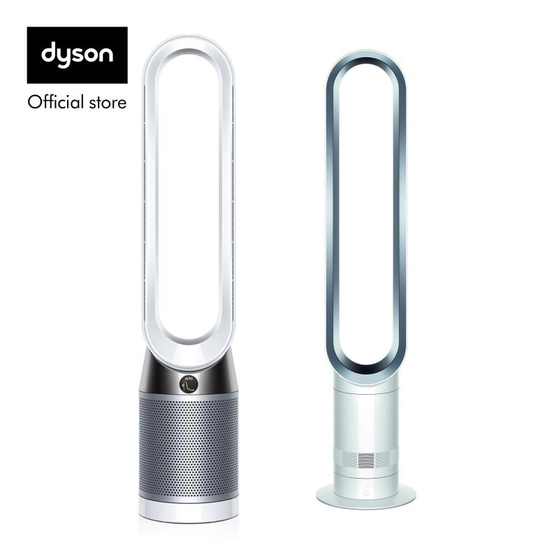 Dyson TP04 White Silver with AM07 White Silver worth $499 Singapore