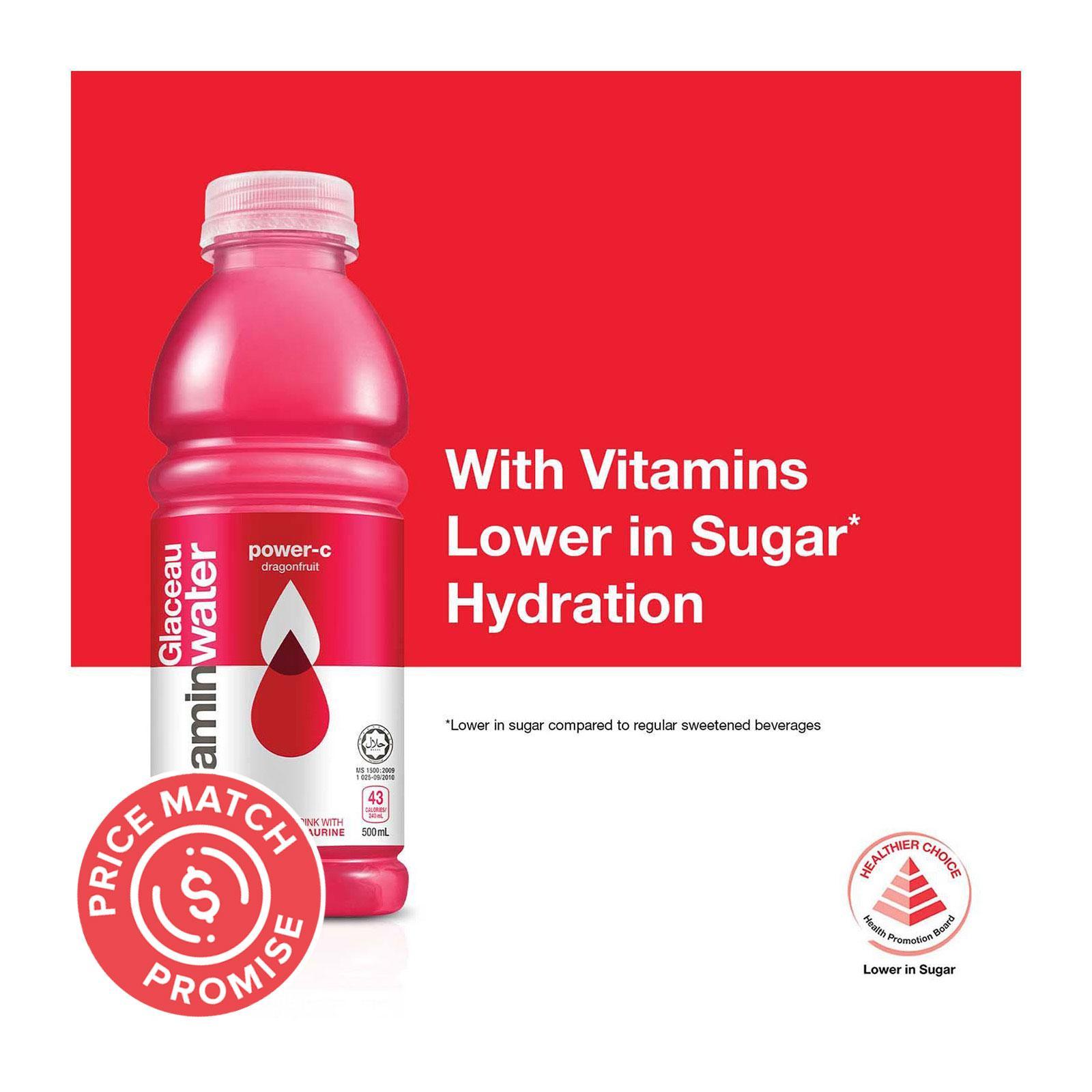GLACEAU Vitamin Water Power-C Dragonfruit 500ml