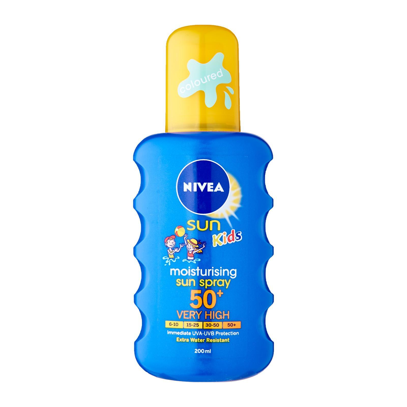 Nivea Sun Care Unisex Spray Kid's Spray SPF 50+