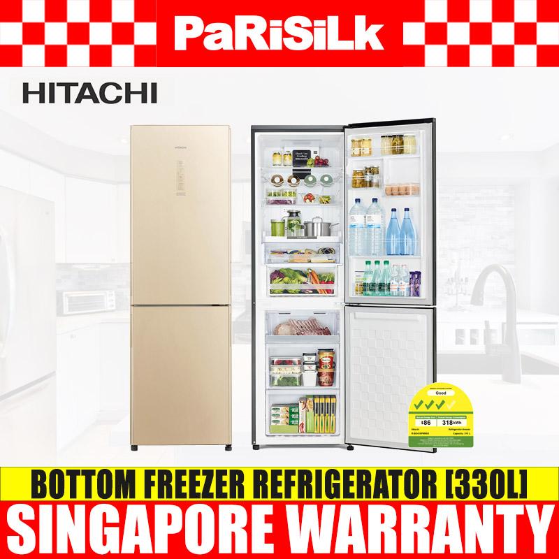 Hitachi R-Bg415p6msx (stylish Bottom Freezer 2 Door 330l).