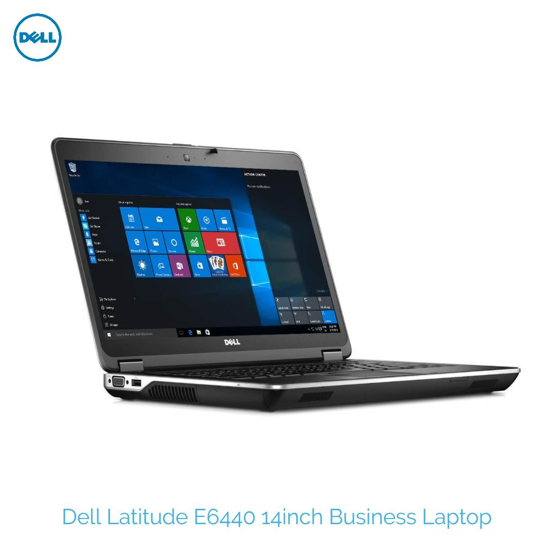 Dell Latitude E6440 14.1in Laptop i5-4300M#2.6Ghz 16GB DDR3 240GB SSD New Win 10 Pro One Month Warranty Refurbished