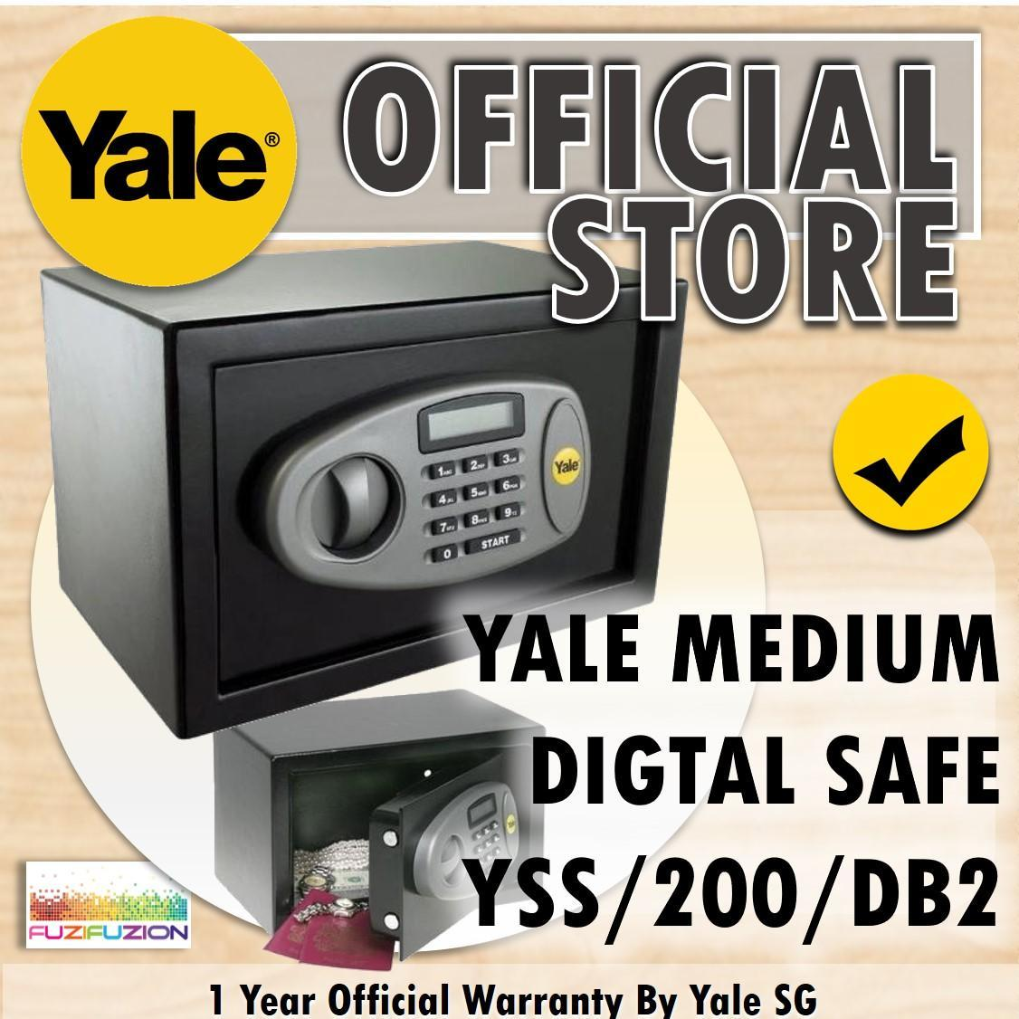 Yale YSS/200/DB2 Standard Home Safe