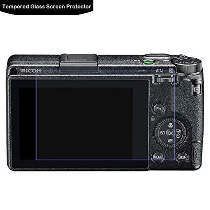 Full Covered eDSLRs Tempered Glass Screen Protector For Ricoh GR III 3