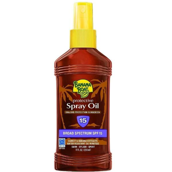 Buy Banana Boat Tanning Oil Spf15 236Ml Singapore