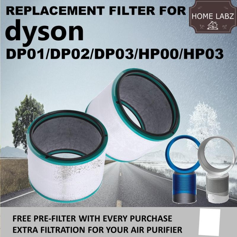 Compatible Replacement Filter For Dyson DP01 DP02 DP03 HP00 HP03 Air Purifier Singapore