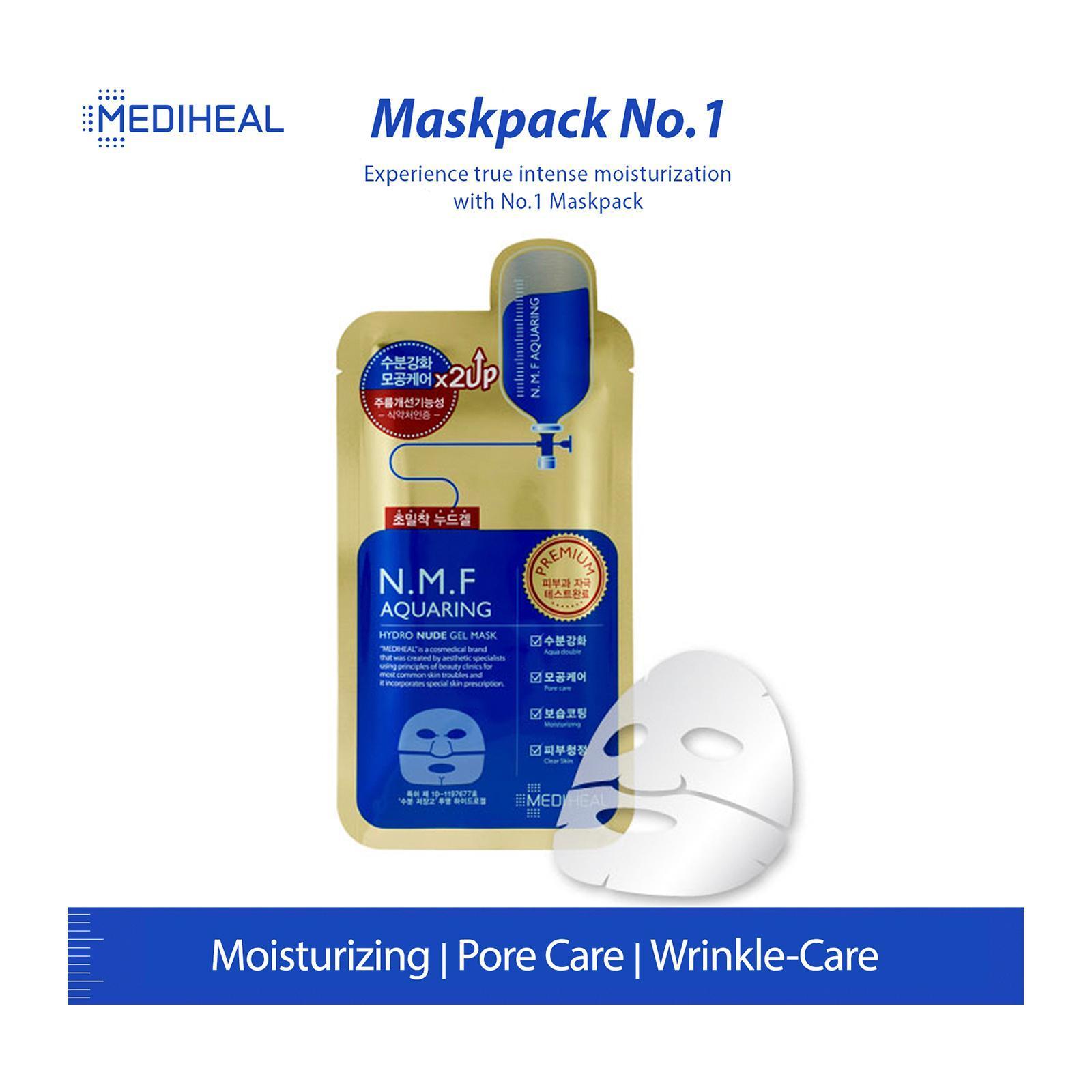 Mediheal Nmf Hydro Nude Gel Mask 1s