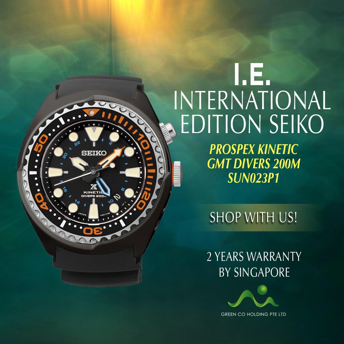 Seiko Prospex Kinetic Diver Price In Singapore