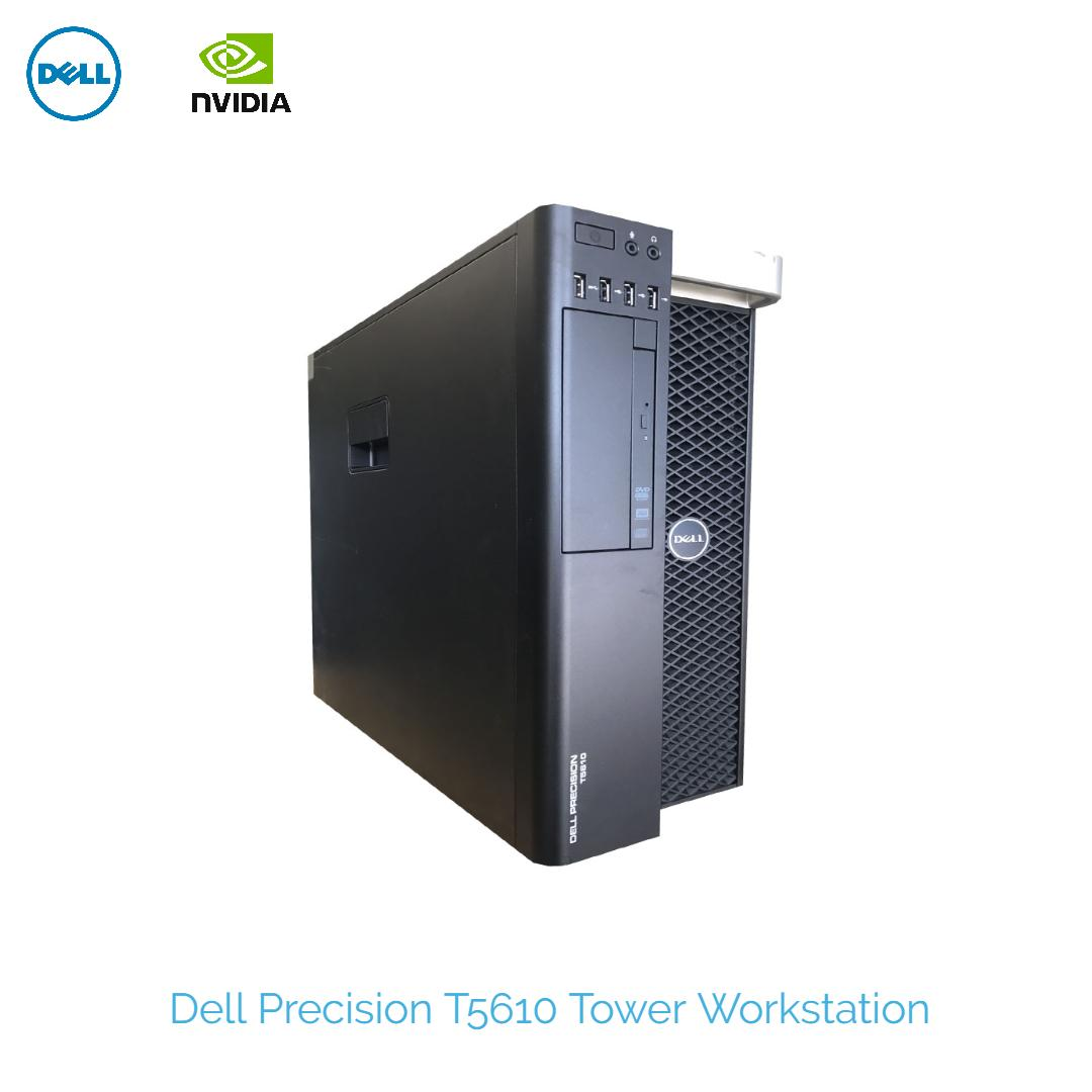 Dell Precision T5610 workstation 2x 8-Core CPU E5-2650L #1 80Ghz 32GB DDR3  500GB SSD nvidia Quadro K2000 2GB Graphics Win 10 Pro