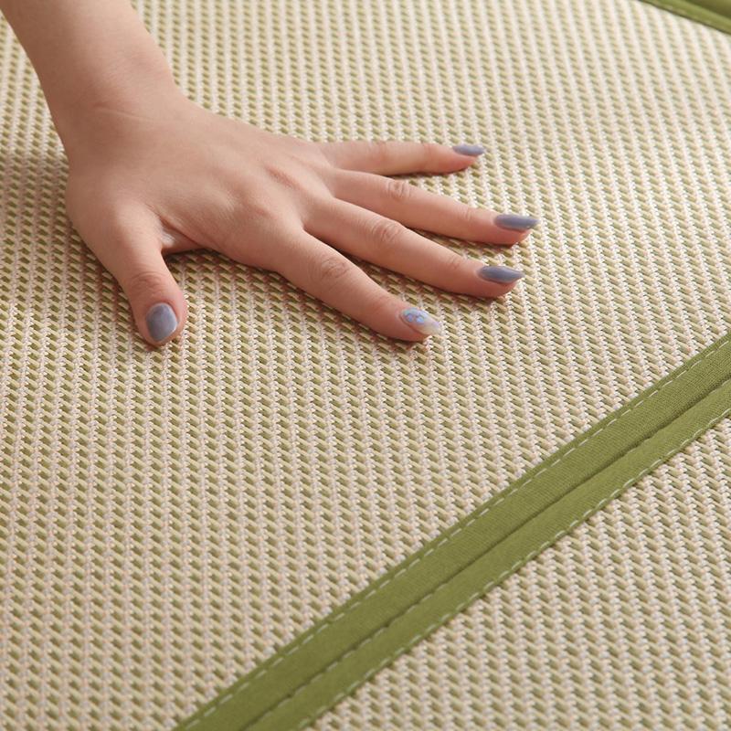 Rattan Mat Rug Living Room Bedroom Tatami to Coaster Foldable Joint Summer Sleeping Mat Children Baby Creeping Mat