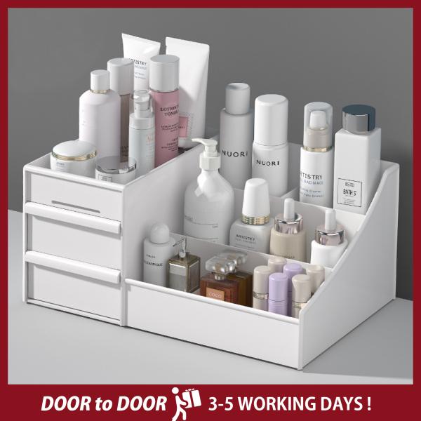 Large Capacity Cosmetic Storage Box Makeup Drawer Organizer Jewelry Nail Polish Makeup Container Desktop Sundries Storage Box make up box drawer