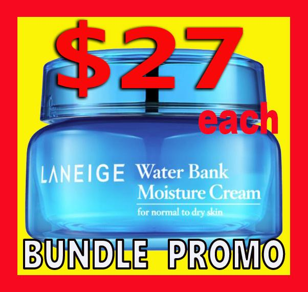 $10 OFF ! Laneige Water Bank Moisture Cream Gel Cream Expiry 2022 50ml