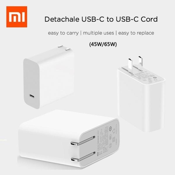 XIAOMI 45W USB-C WINDOWS & MAC LAPTOP CHARGER FREE TRAVEL ADAPTOR