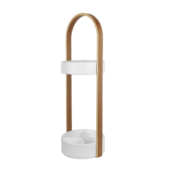 UMBRA HUB UMBRELLA STAND - WHITE