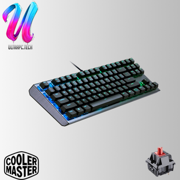 CoolerMaster CK530 TKL Mechanical RGB K/B Gateron Blue Gaming Keyboard (2Y) Singapore