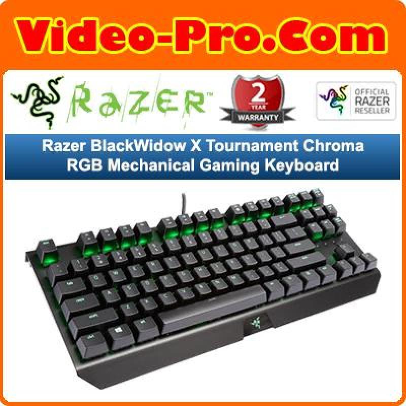 Razer BlackWidow X Tournament Chroma RGB Mechanical Gaming Keyboard Singapore