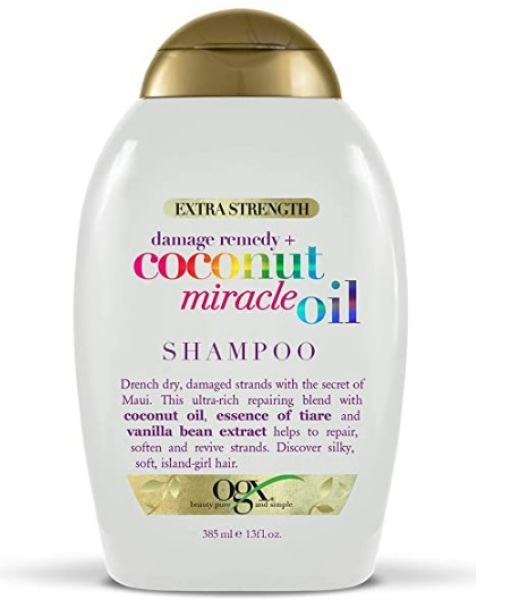 Buy OGX Extra Strength Damage Remedy + Coconut Miracle Oil Shampoo, 13 Ounce Singapore