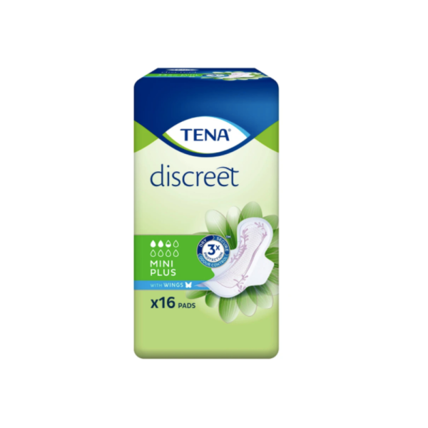 Buy TENA Lady Discreet Mini Plus Wings 16s x 8 Singapore