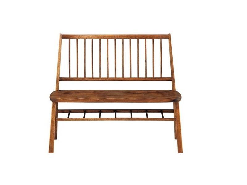 MINO Bench 3-Seater - Japanese Black Walnut