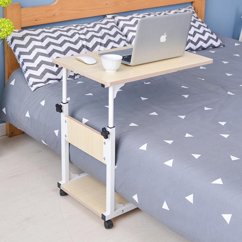 Bedside Work Desk L-Shaped for Bedside Room Bedroom Study Desk Minmalistic