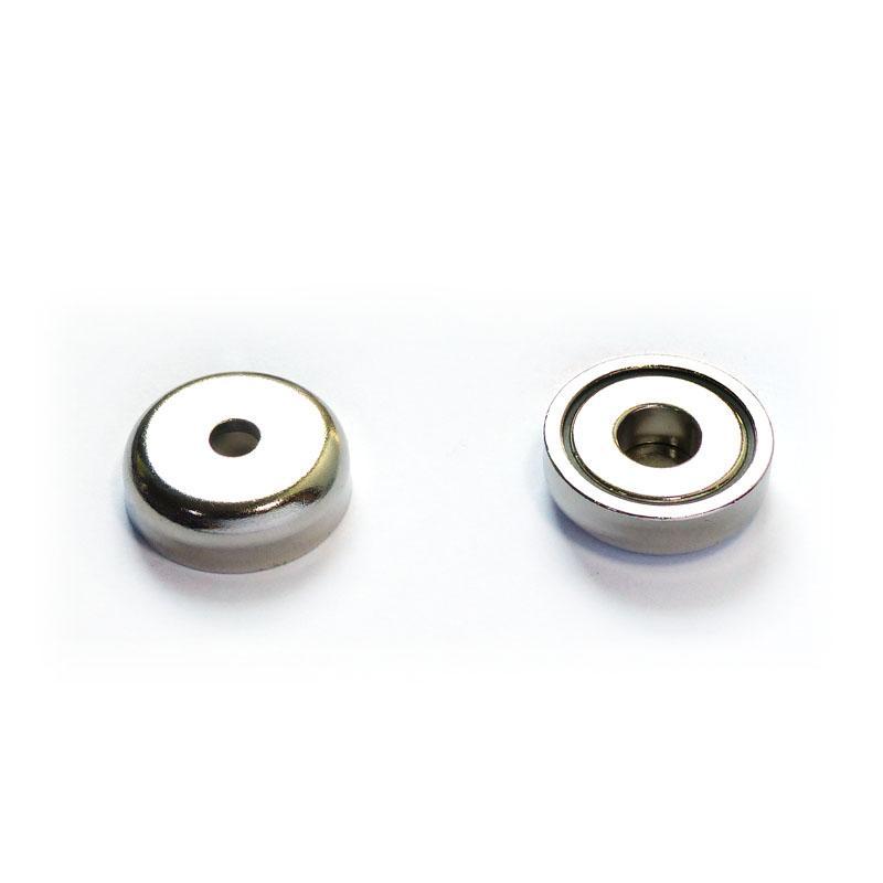 Pot Magnets Neodymium 2Pcs/pack – 25mm Dia