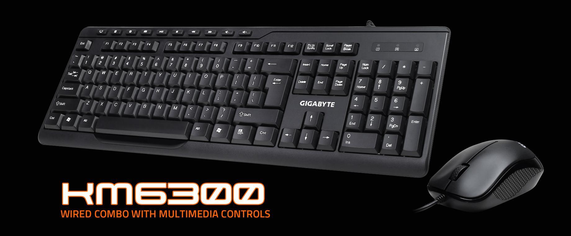 GIGABYTE KM6300 Keyboard