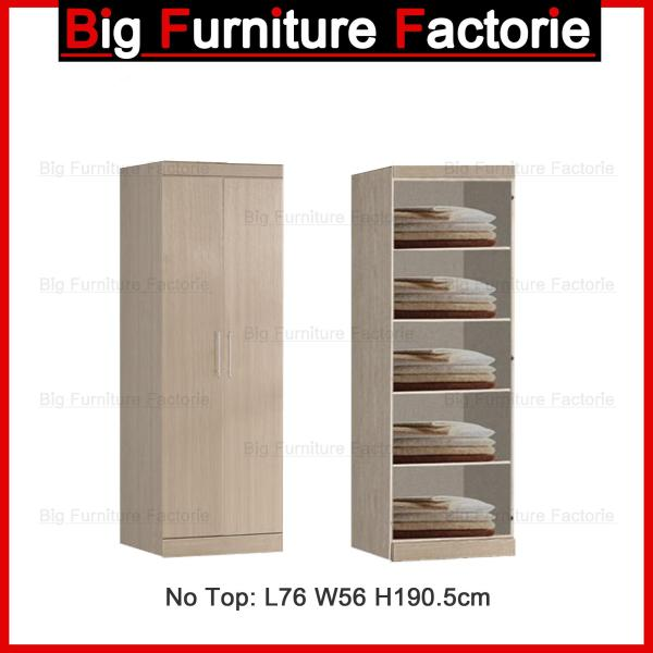 BFF-A4D Two Door Wardrobe no Top