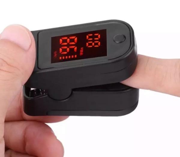 Buy random color Saturation Monitor Blood Finger Pulse Oxygen Oximeter Blood Pressure Meter Singapore