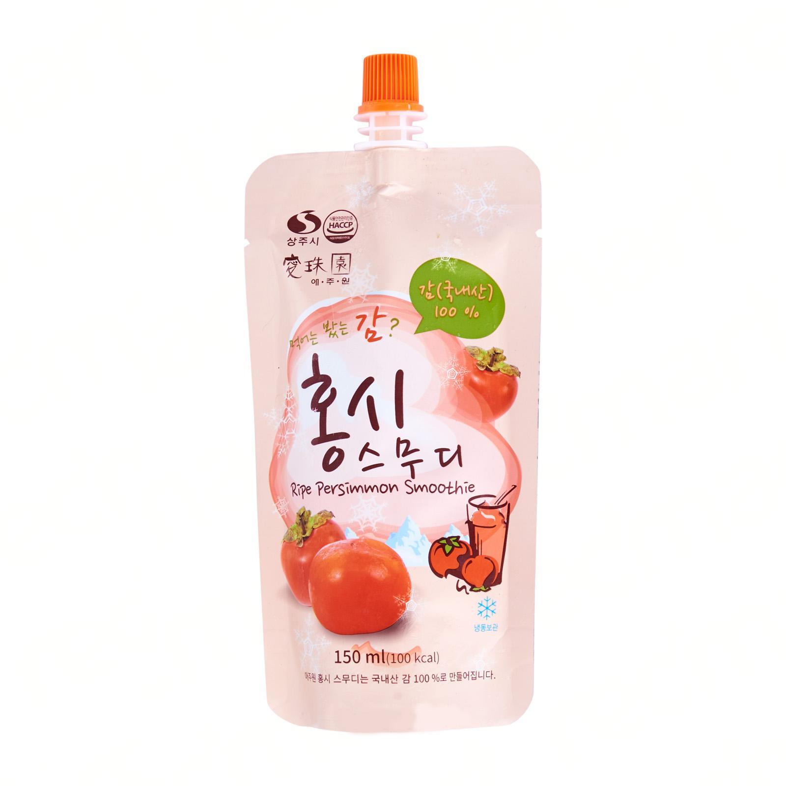 Aejuwon Korean 100% Ripe Persimmon Smoothie - Frozen