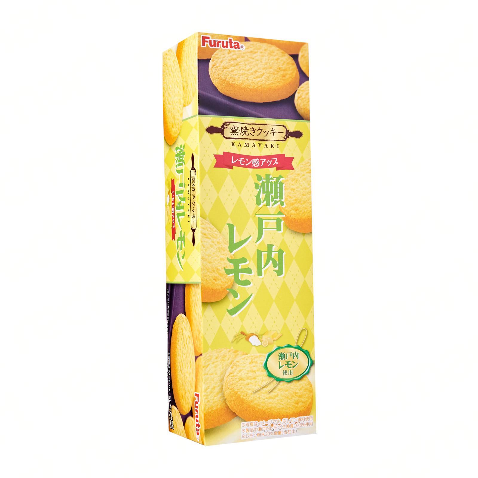 Kirei Furata - Japan Setouchi Lemon Cookies Snack 80.4G