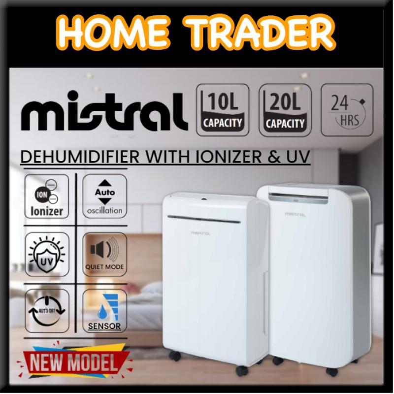 【 MISTRAL 】✦ DEHUMIDIFIER WITH IONIZER & UV ✦ 10L ✦ 20L ✦ MDH100 ✦ MDH200 Singapore