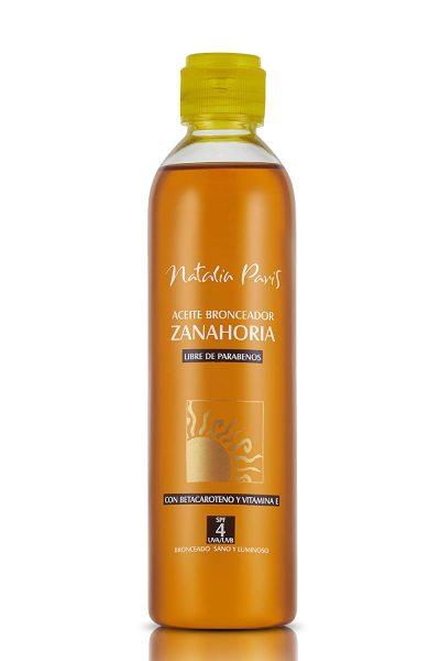Buy Natalia Paris Carrot Tanning Oil with Beta-Carotene and Vitamin E - SPF 4,UVA/UVB (INSTOCKS) Singapore