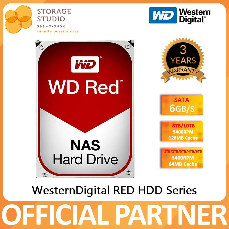 WD RED NAS HDD Hard Disk 3 5