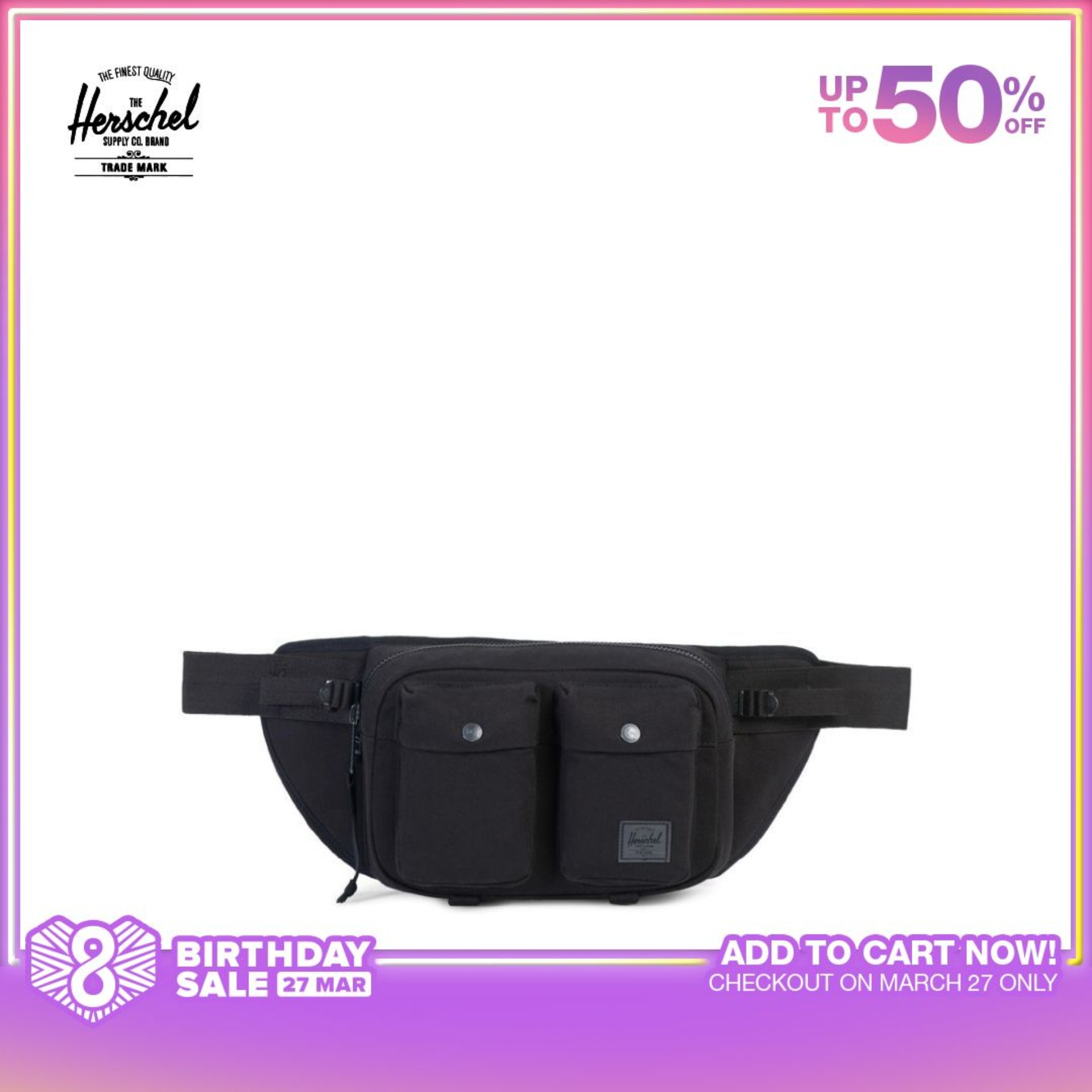 Geometric Colorful Unicorn Sport Waist Packs Fanny Pack Adjustable For Travel