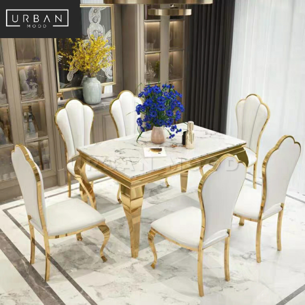 [Pre-Order] PONTE Victorian Marble Dining Table