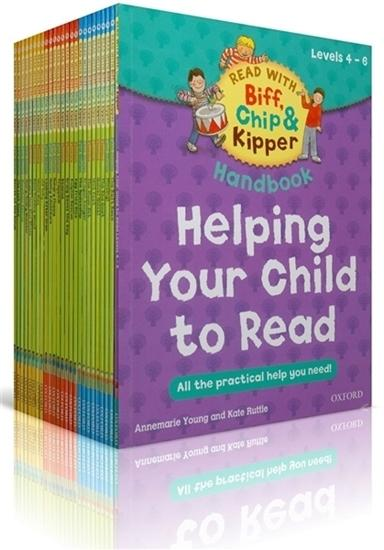 Oxford Reading Tree 33 Books- Read With Biff, Chip And Kipper Collection Levels 4-6 By Ichiban Kids.