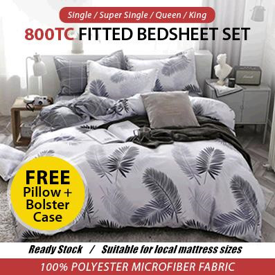 Extra Deep Fitted Sheet Solid Bed Sheets Mattress Cover Protector Bedspreads